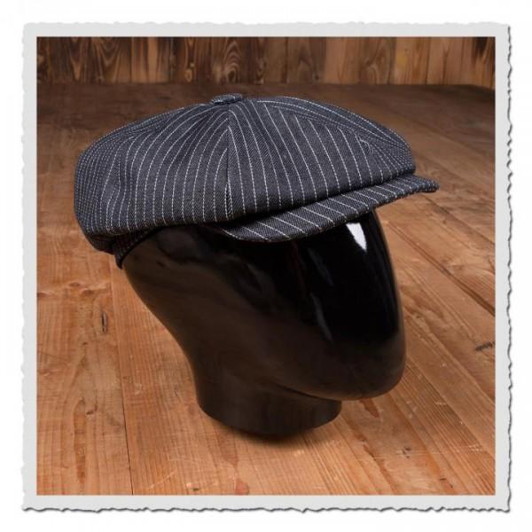 1928 Newsboy Cap blue wabash