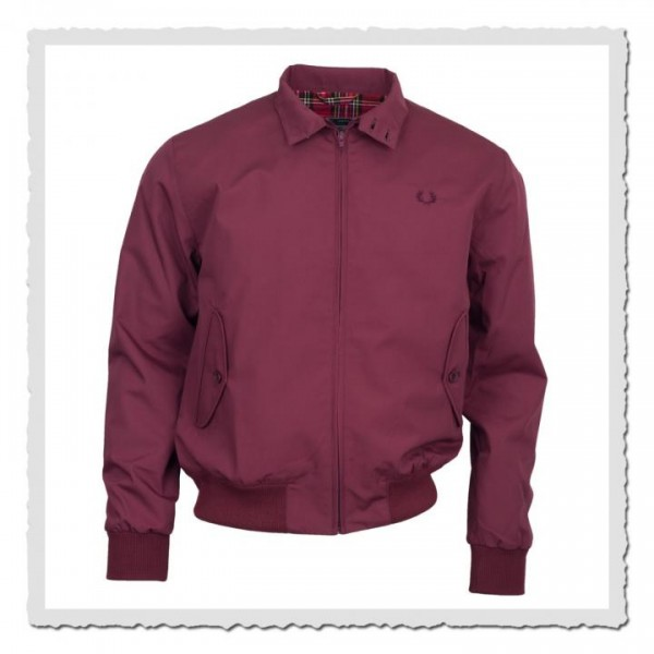 Harrington Jacket maroon