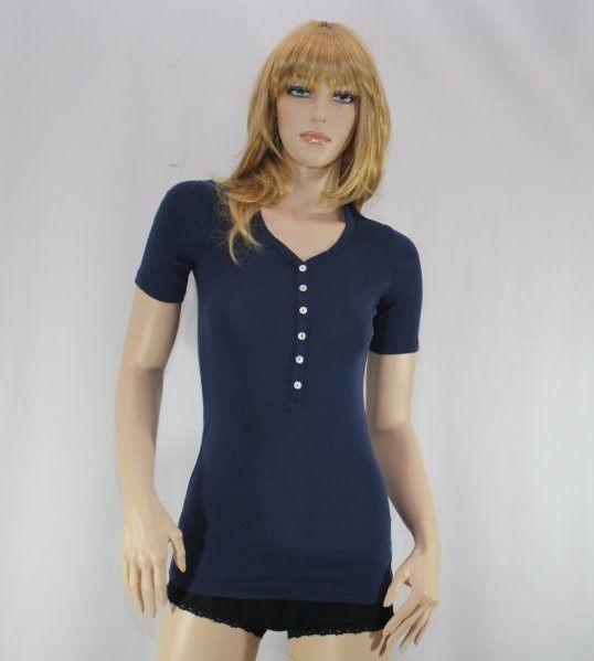 Lena 1/2 Arm-Shirt indigo