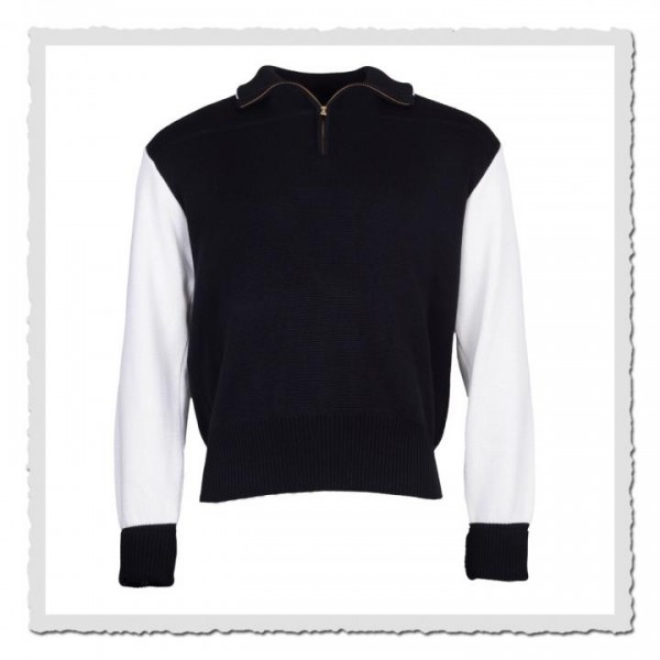 Sport Sweater black/offwhite