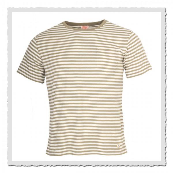 Ringel-Shirt Kollektion Heritage lindgrün offwhite