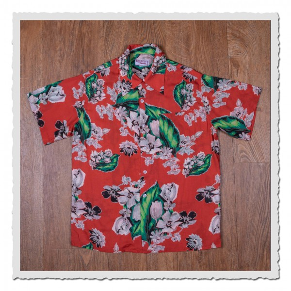 1947 Albert Shirt Pulemoku red