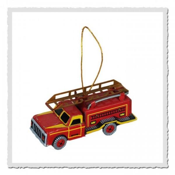 Blech-Anhänger Feuerwehr
