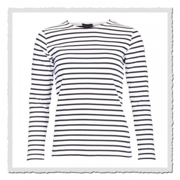 Matrosinnen-Shirt Essentials weiss/blau