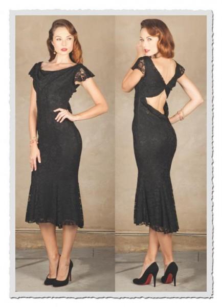 Damenkleid Genieve schwarz