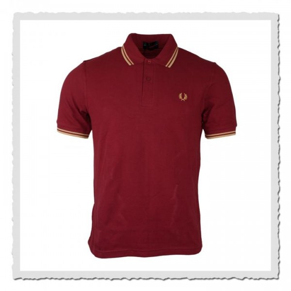 Polo Shirt Twin Tipped Cherry