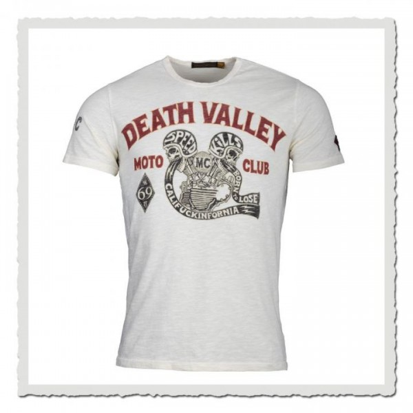 Death Valley MC dirty white