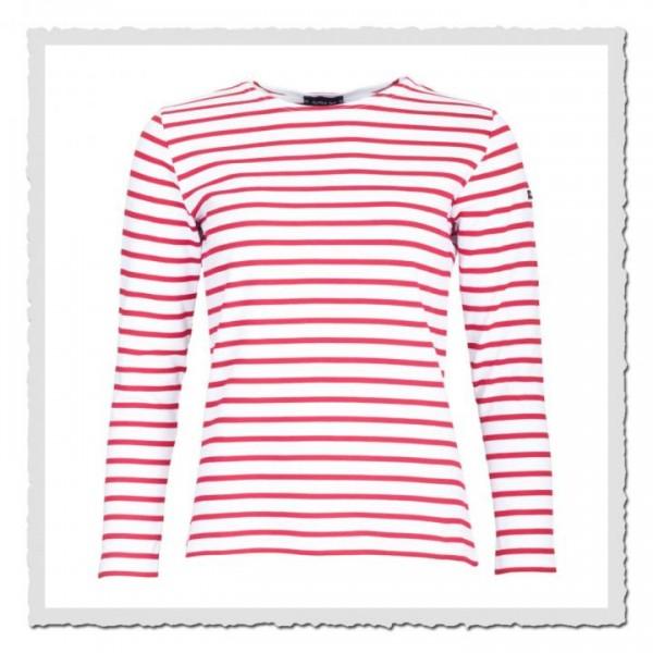 Matrosinnen-Shirt Essentials weiss/rot