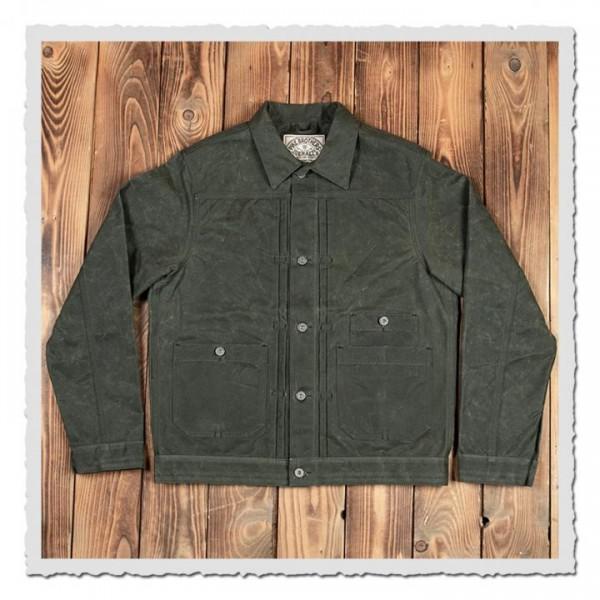 1908 Miner Jacket waxed olive