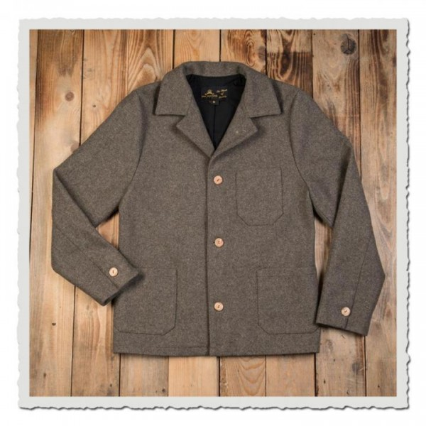 1937 Roamer Jacket grey wool