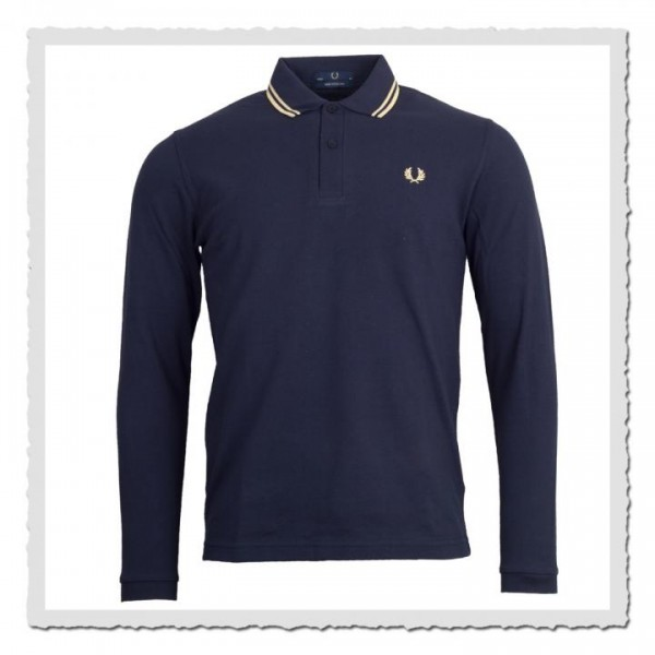 Polo Shirt Twin Tipped Navy