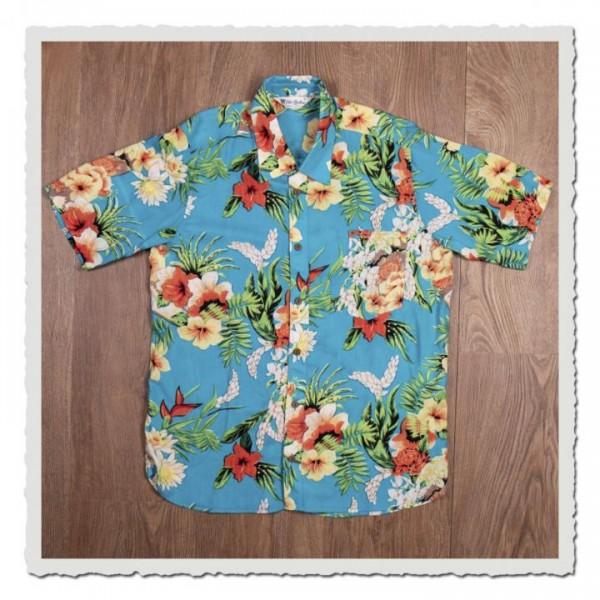 1937 Roamer Shirt Short Sleeve Hapuna blue
