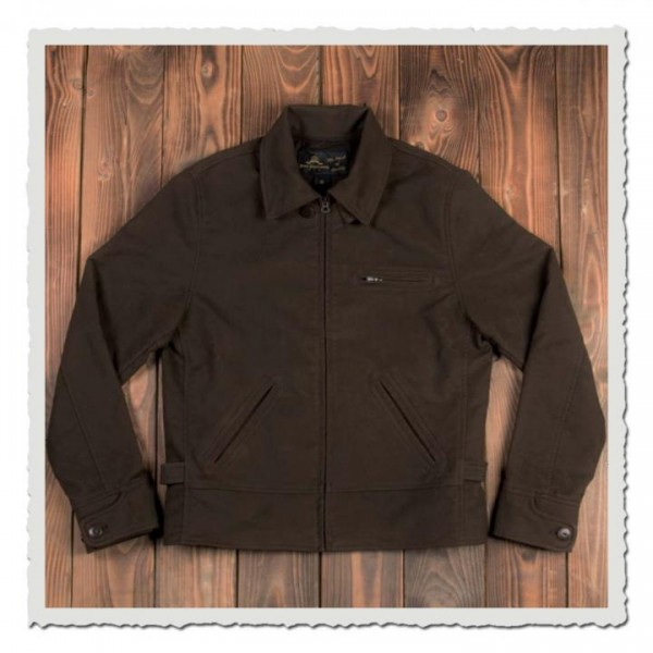 1932 Roadster Jacket Moleskin dark brown