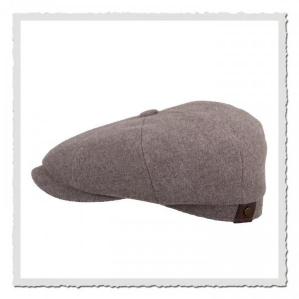 Hatteras Wool/Cashmere sandgrey Earflaps