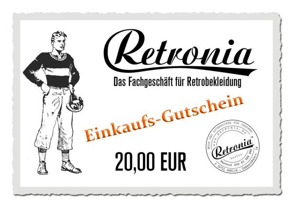 Retronia Geschenk-Gutschein Motiv 02
