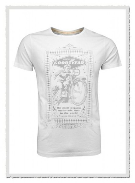 GoodYear Vintage T-Shirt Motorcycle