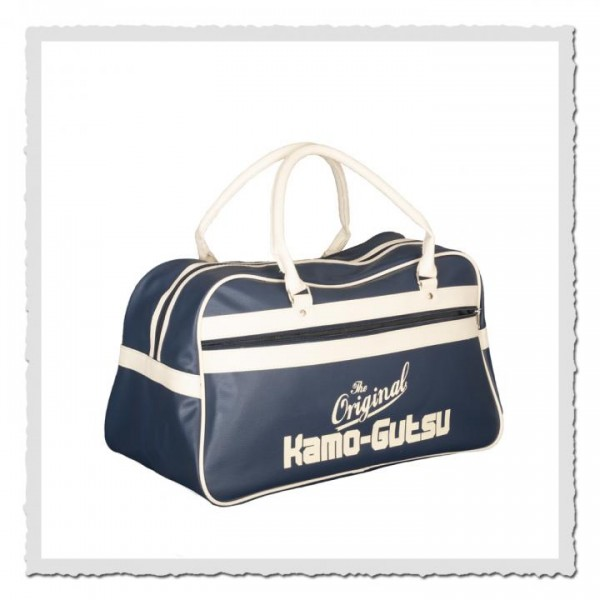 Retro Sporttasche blau