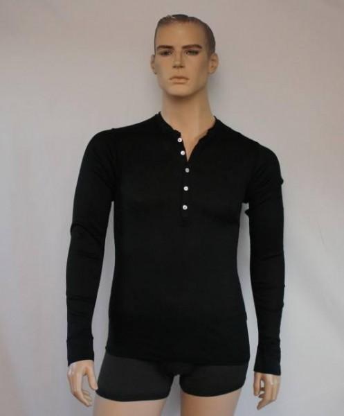 Heinrich 1/1 Arm-Shirt schwarz