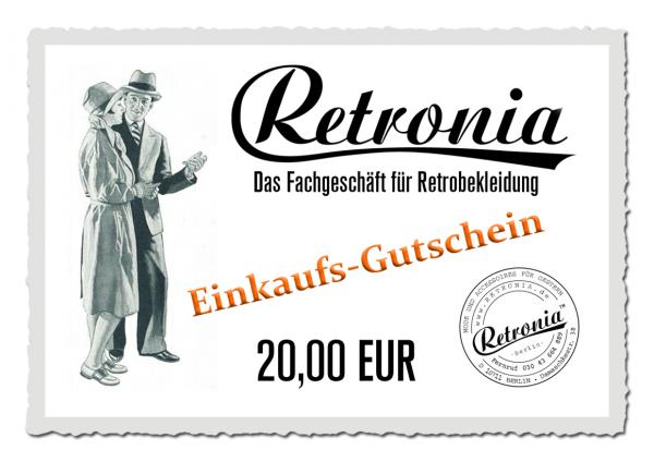 Retronia Geschenk-Gutschein Motiv 01