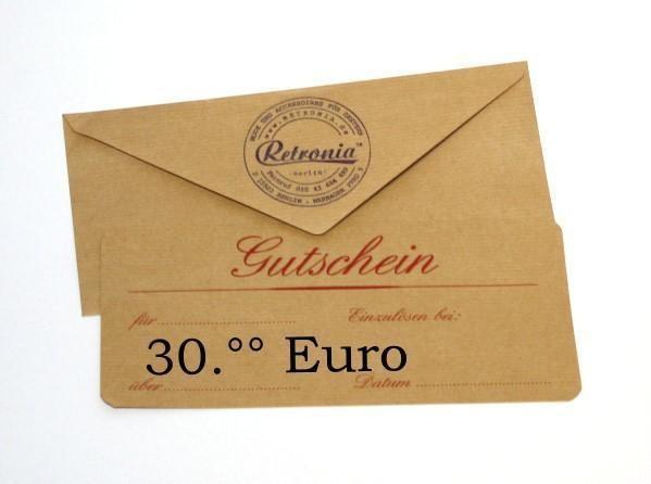 Geschenk-Gutschein über 30 EUR