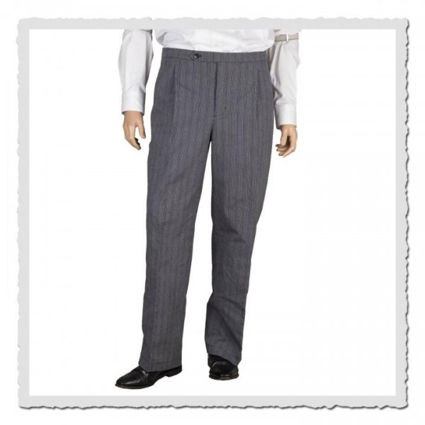 Hochbundhose Stresemann grey-stripes