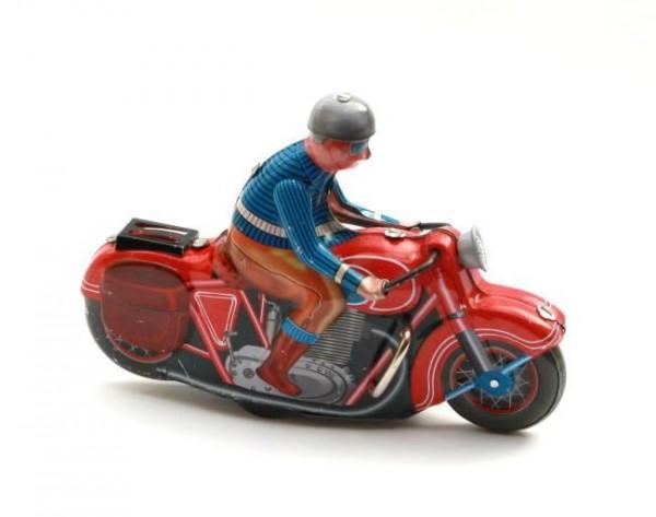 Blech-Motorrad 'Motorbike'