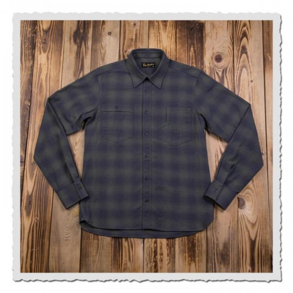 1937 Roamer Shirt oliv check