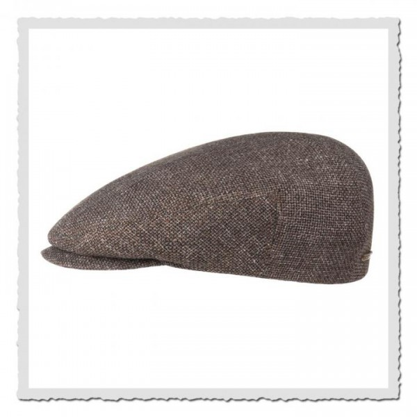 Driver Cap Virgin Wool/Leinen