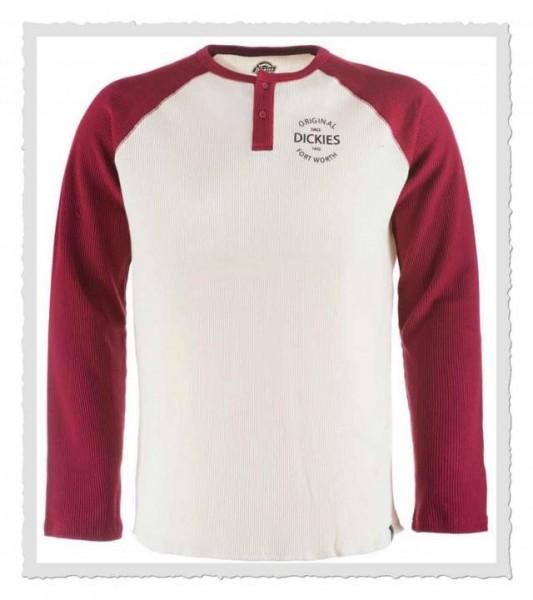 Gridley Langarm-Shirt Aged Brick
