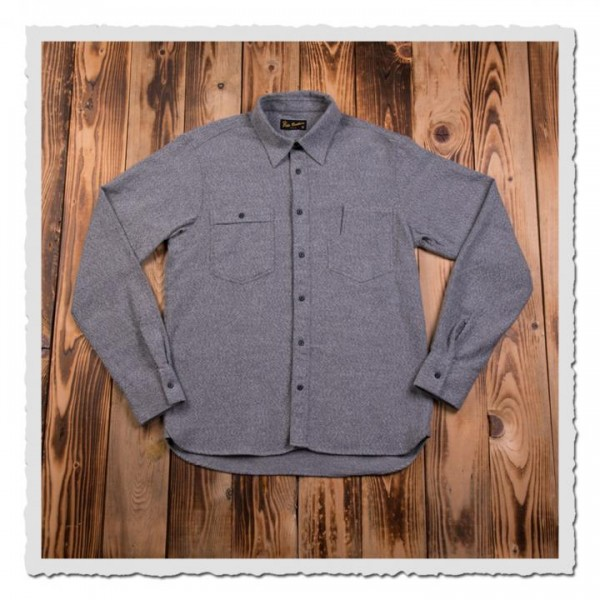 1937 Roamer Shirt Alaska grey