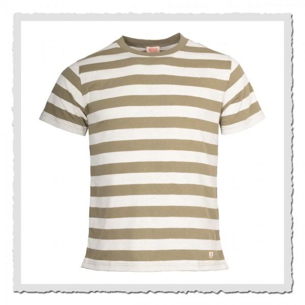 1/2-Arm-Shirt Kollektion Heritage lindgrün offwhite