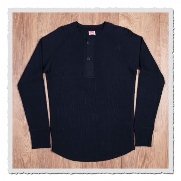 pike brothers 1936 waffle shirt rockport blue