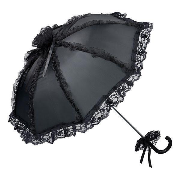 Spitzenschirm 'Malisa' schwarz