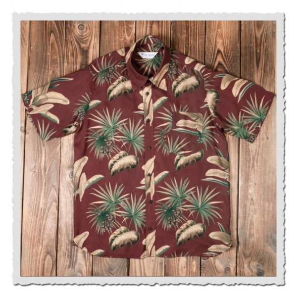 1937 Roamer Shirt Short sleeve Maohu red