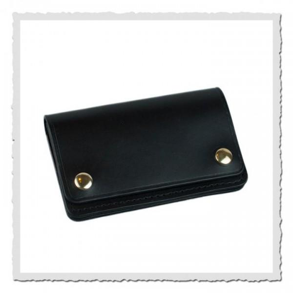 Slim Biker Wallet black