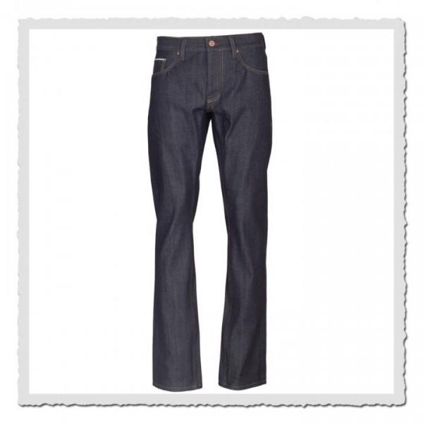 14,5 oz Jeans schmaler Blaumann Deutscher Denim