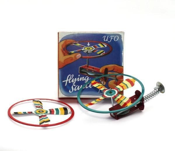 Blechspielzeug 'UFO Flying Saucer'