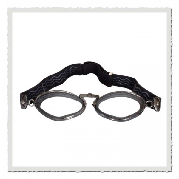 Aviator Goggle 4400 gummi schwarz gunmetall