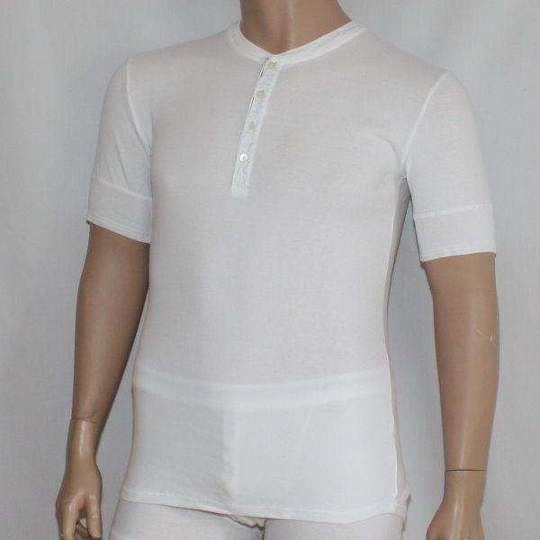 Karl-Heinz 1/2 Arm-Shirt weiss