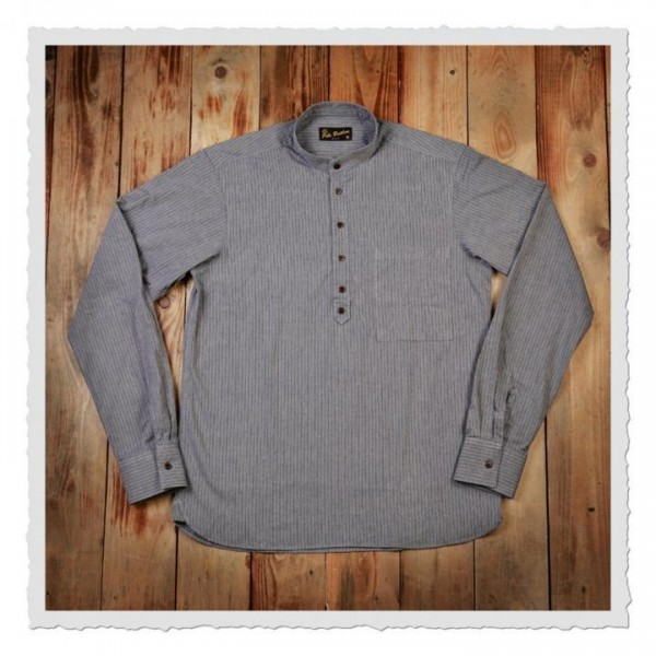 1923 Buccaneer Shirt grey striped