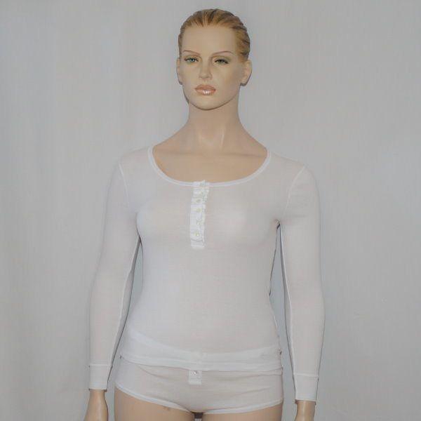 Sieglinde 1/1 Arm-Shirt weiss