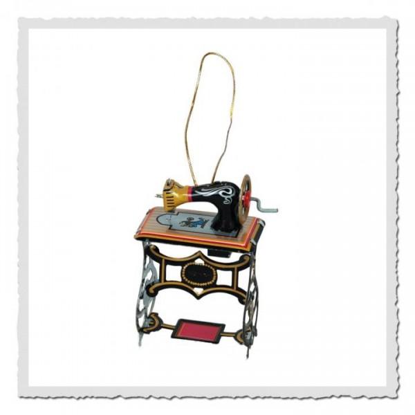 Blech-Anhänger Nähmaschine