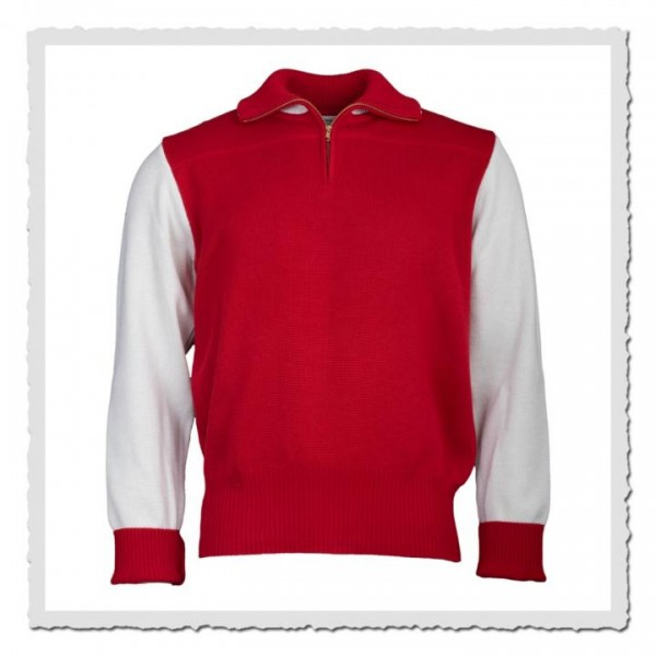 Sport Sweater red/offwhite