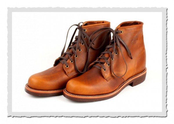 Tan Renagade Service Boot