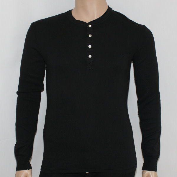 Karl-Heinz 1/1 Arm-Shirt schwarz