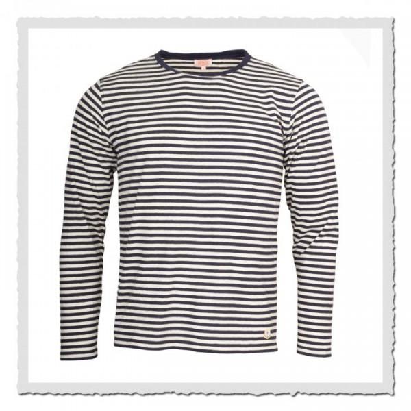 Matrosen-Shirt Kollektion Heritage navy offwhite