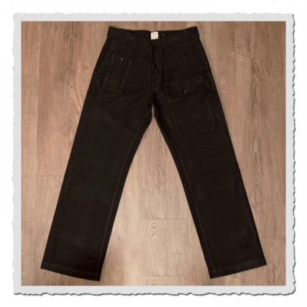1952 Pattern Trousers Moleskin soil brown
