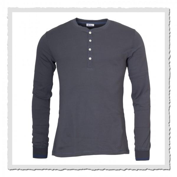 schiesser revival shirt karl heinz langarm anthrazit